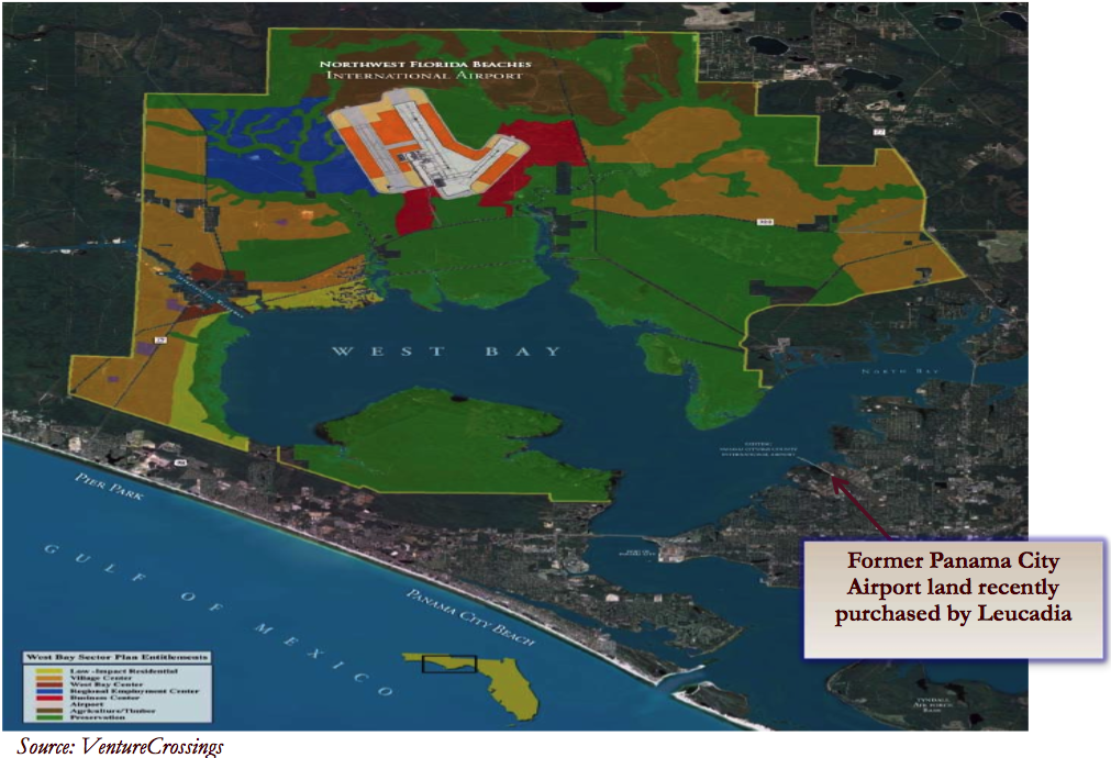 St Joe's Airport Land